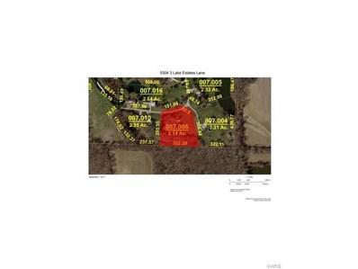 5304 3 Lake Estates Lane, Edwardsville, IL 62025 - #: 17071726