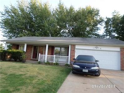 11216 Parkmont Drive, St Louis, MO 63138 - MLS#: 17080887