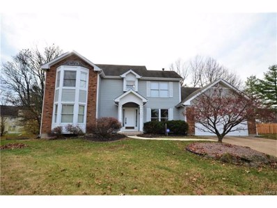 1208 Cannonade Court, Florissant, MO 63034 - MLS#: 17093990