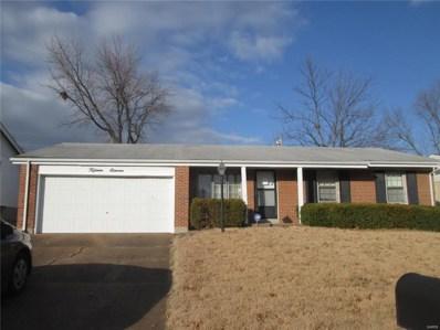 1511 Saint Ives Drive, St Louis, MO 63136 - MLS#: 17095555