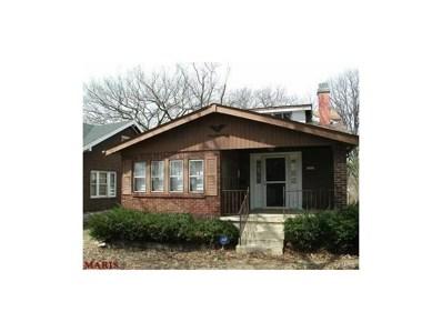 8515 Clifton Avenue, St Louis, MO 63136 - MLS#: 17096894