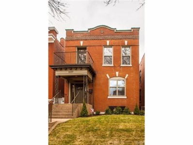3837 Connecticut Street, St Louis, MO 63116 - MLS#: 18000071