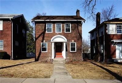 6705 Chamberlain Avenue, St Louis, MO 63130 - MLS#: 18004260