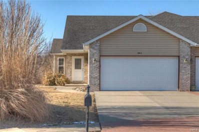 348 Jarvis Court UNIT A, Troy, IL 62294 - MLS#: 18006245