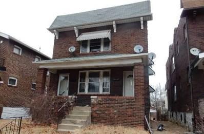 4833 Penrose Street, St Louis, MO 63115 - MLS#: 18006256