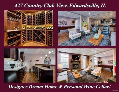 427 Country Club View Drive, Edwardsville, IL 62025 - #: 18006601