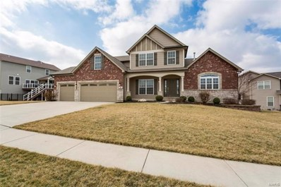 43 Verdant View Manor Court, Wentzville, MO 63385 - MLS#: 18015981