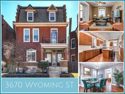 3670 Wyoming Street, St Louis, MO 63116 - MLS#: 18018711