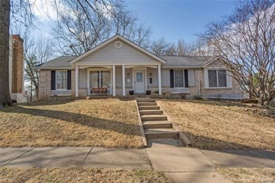 1812 Canyon View, Chesterfield, MO 63017 - MLS#: 18018713