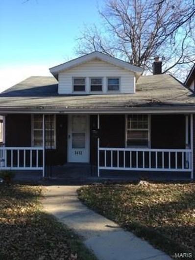 3412 Lucas And Hunt, St Louis, MO 63121 - MLS#: 18020473