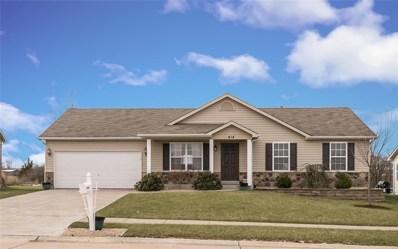 414 Pearl Creek, Wentzville, MO 63385 - MLS#: 18025630