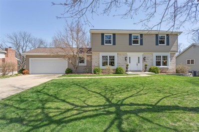 1753 Canyon View Court, Chesterfield, MO 63017 - MLS#: 18028164
