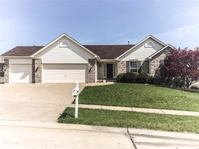 2307 Bear Fountain Run, Wentzville, MO 63385 - MLS#: 18029121