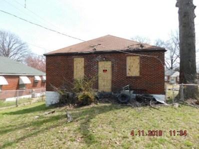 5345 Fletcher, St Louis, MO 63136 - MLS#: 18029809
