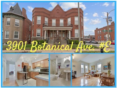 3901 Botanical Avenue UNIT E, St Louis, MO 63110 - MLS#: 18032608