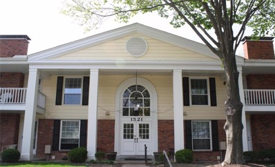 1521 Hedgeford Drive UNIT 11, Chesterfield, MO 63017 - MLS#: 18034099