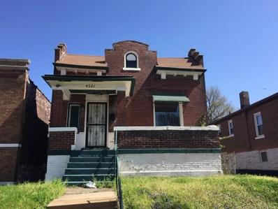 4521 Greer Avenue, St Louis, MO 63115 - MLS#: 18034277