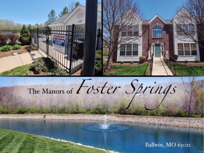 1601 Forest Springs UNIT A, Ballwin, MO 63021 - MLS#: 18034546