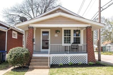 4732 Tesson, St Louis, MO 63116 - MLS#: 18035368