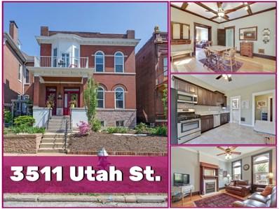 3511 Utah Street, St Louis, MO 63118 - MLS#: 18036615