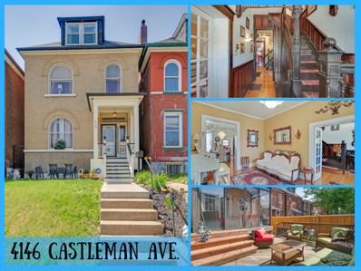 4146 Castleman Avenue, St Louis, MO 63110 - MLS#: 18036876