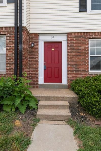 57 Woodlake Court, Lake St Louis, MO 63367 - MLS#: 18040361