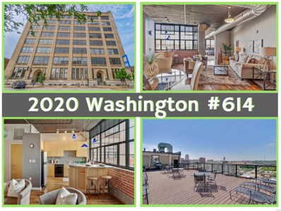 2020 Washington Avenue UNIT 614, St Louis, MO 63103 - MLS#: 18041325