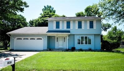 816 Chancellor Drive, Edwardsville, IL 62025 - #: 18044051