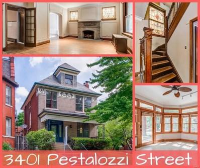 3401 Pestalozzi Street, St Louis, MO 63118 - MLS#: 18051648