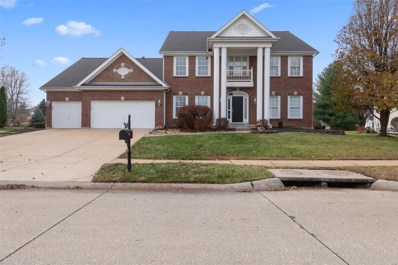 1208 Wildhorse Meadows Drive, Chesterfield, MO 63005 - MLS#: 18051815