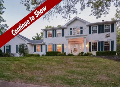 1908 Farm Valley Drive, Chesterfield, MO 63017 - MLS#: 18055170