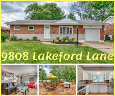 9808 Lakeford Lane, St Louis, MO 63123 - MLS#: 18055722