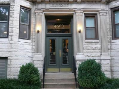 4508 McPherson Avenue UNIT 2E, St Louis, MO 63108 - MLS#: 18057469