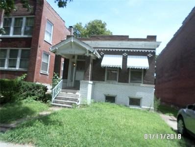 5016 Louisiana Avenue, St Louis, MO 63111 - MLS#: 18057777