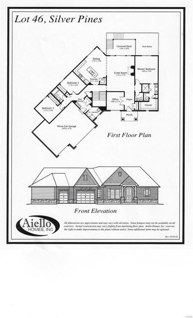 424 Cottage Grove Drive, Wentzville, MO 63385 - MLS#: 18060337