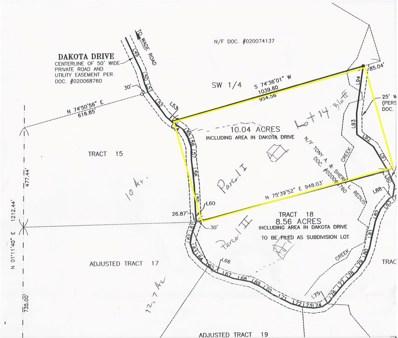 3411 Dakota Hills Lot 14, Pacific, MO 63069 - MLS#: 18061400