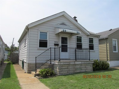 6034 Fyler Avenue, St Louis, MO 63139 - MLS#: 18061765