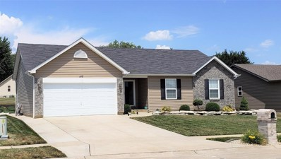 117 Shadow Pointe, Wentzville, MO 63385 - MLS#: 18063131