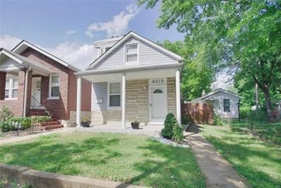 4215 Osceola Street, St Louis, MO 63116 - MLS#: 18063386
