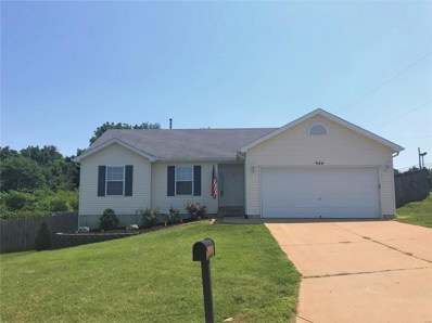 544 Pevely Heights Drive, Pevely, MO 63070 - MLS#: 18063463