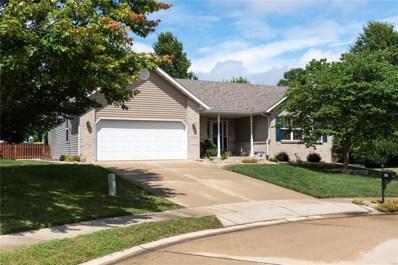2703 Falcon Crest Drive, Edwardsville, IL 62025 - #: 18066269