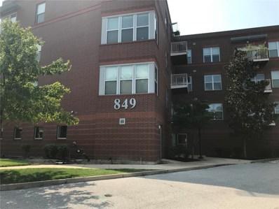 849 Westgate Avenue UNIT 203, St Louis, MO 63130 - MLS#: 18067528