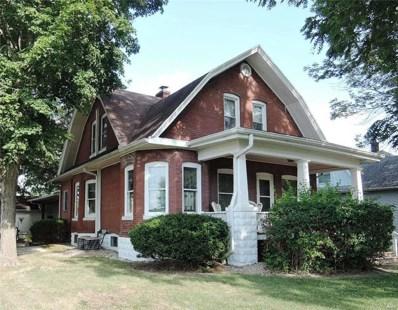 601 Madison, Gillespie, IL 62033 - MLS#: 18069393