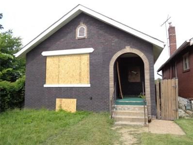 4881 Carter Avenue, St Louis, MO 63115 - MLS#: 18069833