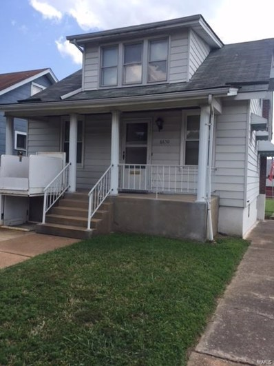 6650 Odell, St Louis, MO 63139 - MLS#: 18070245
