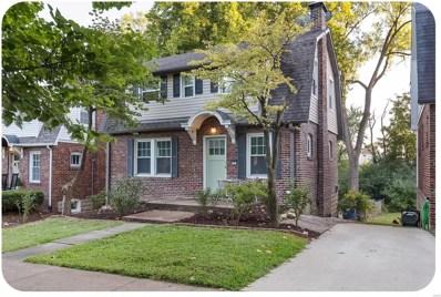 7736 Gissler Avenue, St Louis, MO 63117 - MLS#: 18071462