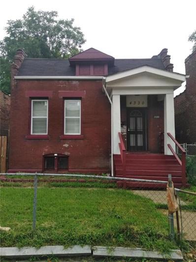 4330 Penrose, St Louis, MO 63115 - MLS#: 18071487