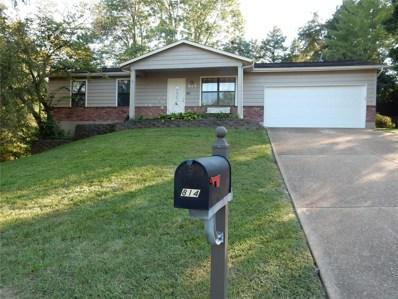 814 Wild Hawk Drive, Eureka, MO 63025 - MLS#: 18073562