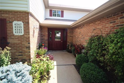 4343 Colony Gardens Drive, St Louis, MO 63125 - MLS#: 18075826