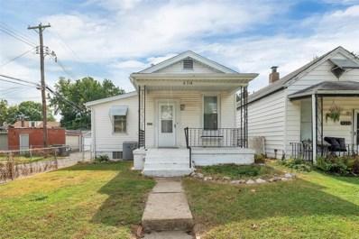 6314 Henry Avenue, St Louis, MO 63116 - MLS#: 18079193